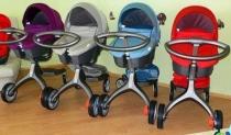 Коляска для новорожденных STOKKE V4